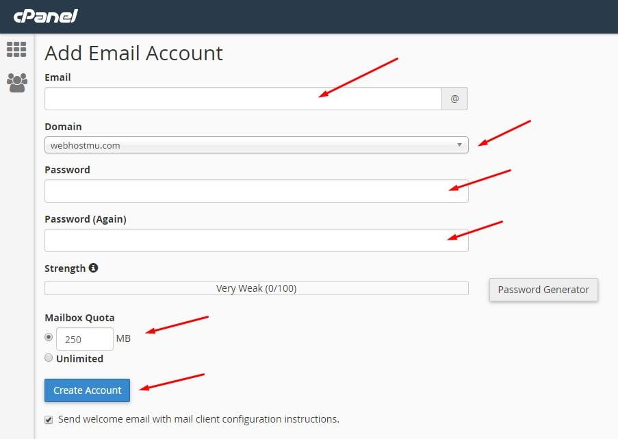 cara membuat email dengan custom domain