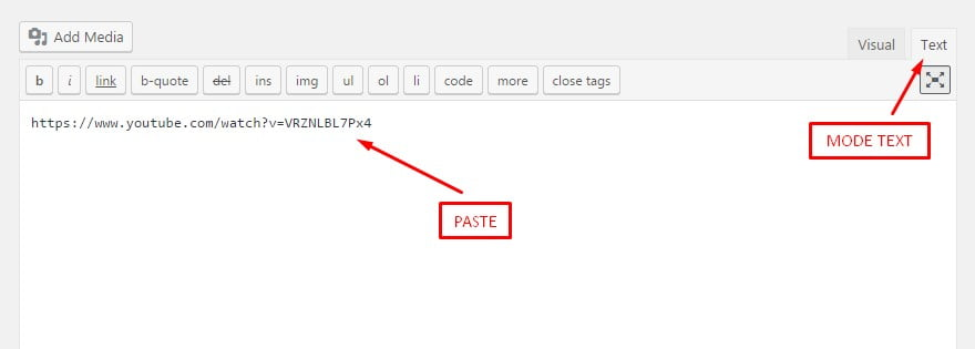 Cara Memasang Video Youtube di Website dan Blog WordPress