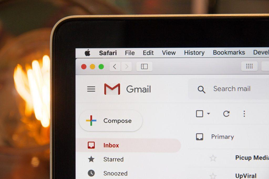 cara membuka email lain di gmail