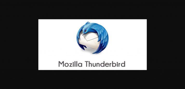 cara setting email di thunderbird