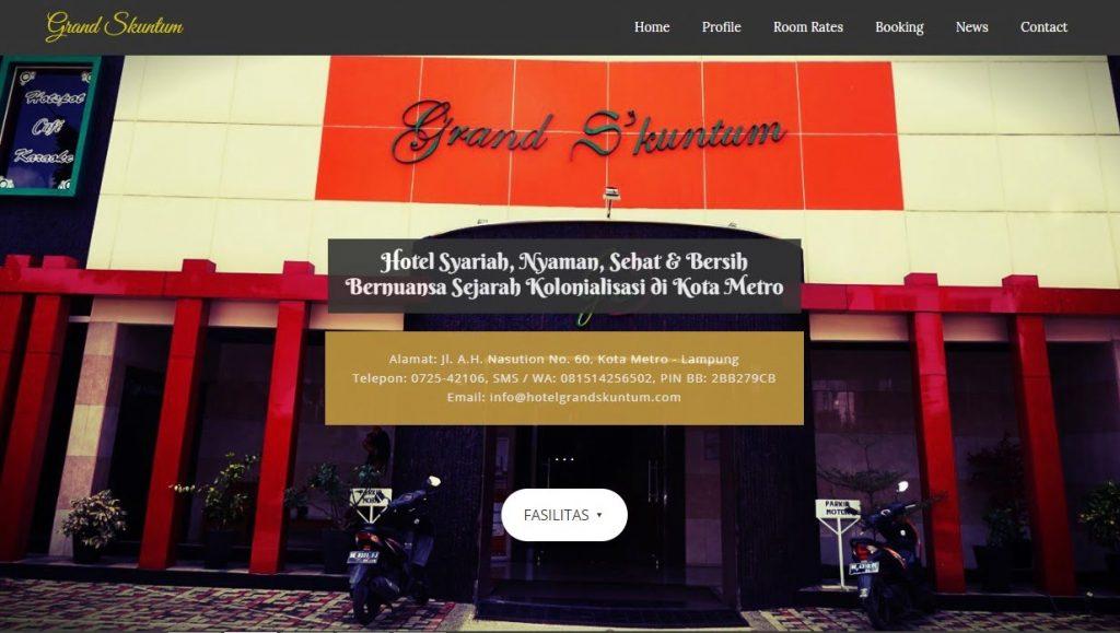 website hotel