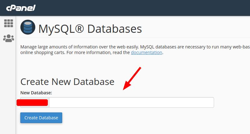 kolom create database