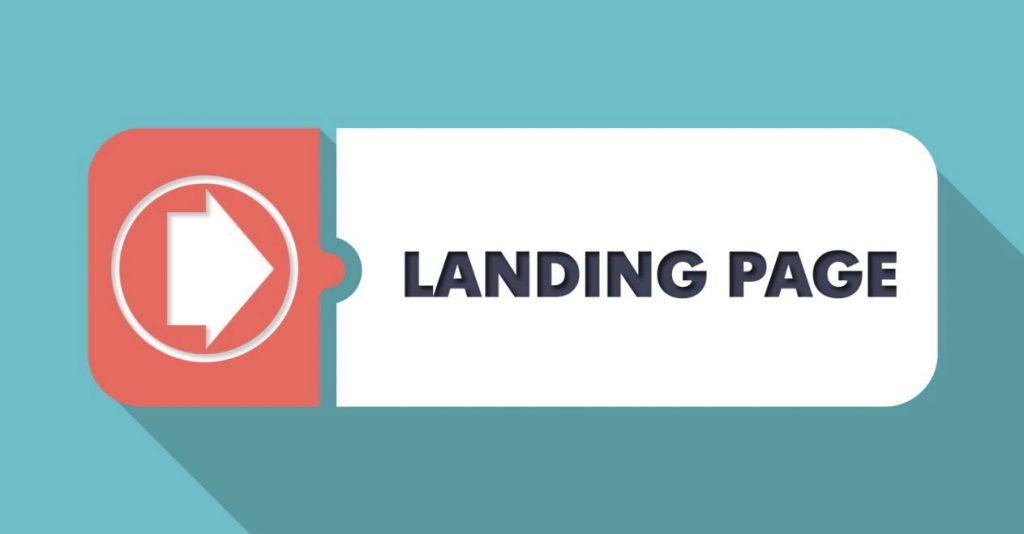 landing page, cara jualan online