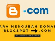 custom domain blogspot, cara redirect blogspot ke domain, blogspot ke dot com