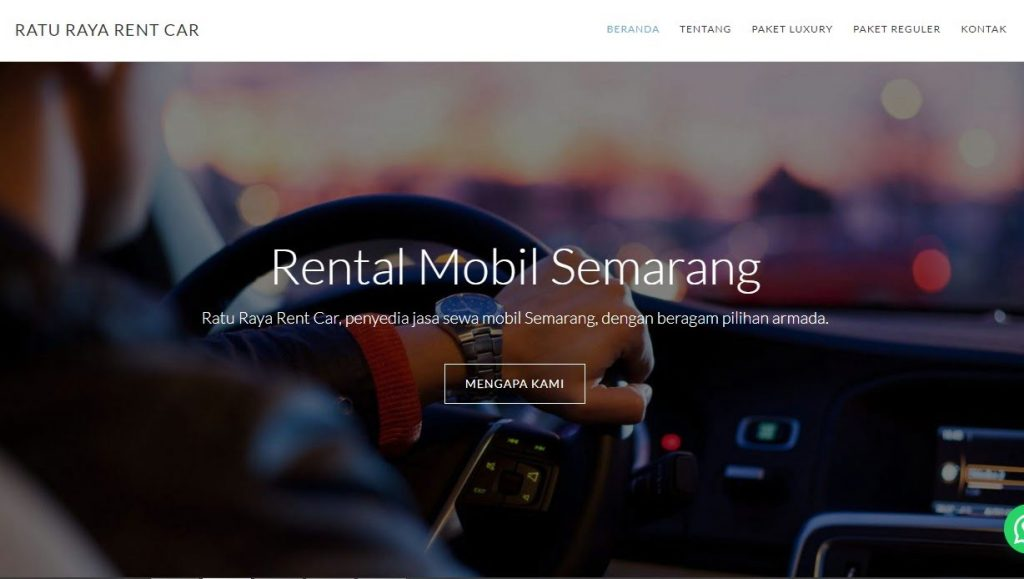 website rental mobil