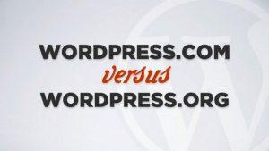 perbedaan wordpress.com dan wordpress.org, wordpress.com vs wordpress.org