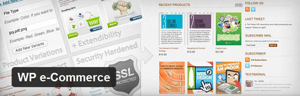 wp-e-commerce, plugin wordpress untuk toko online